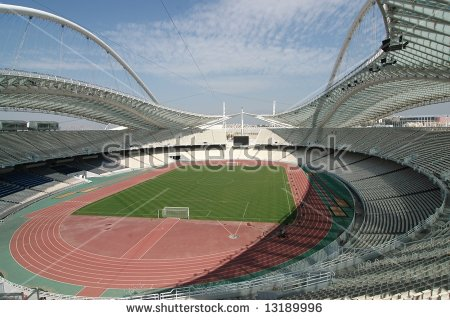 Olympic Stadium Stock Photos, Royalty.