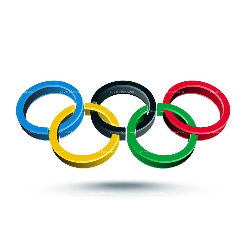 Olympic Symbol 3d.