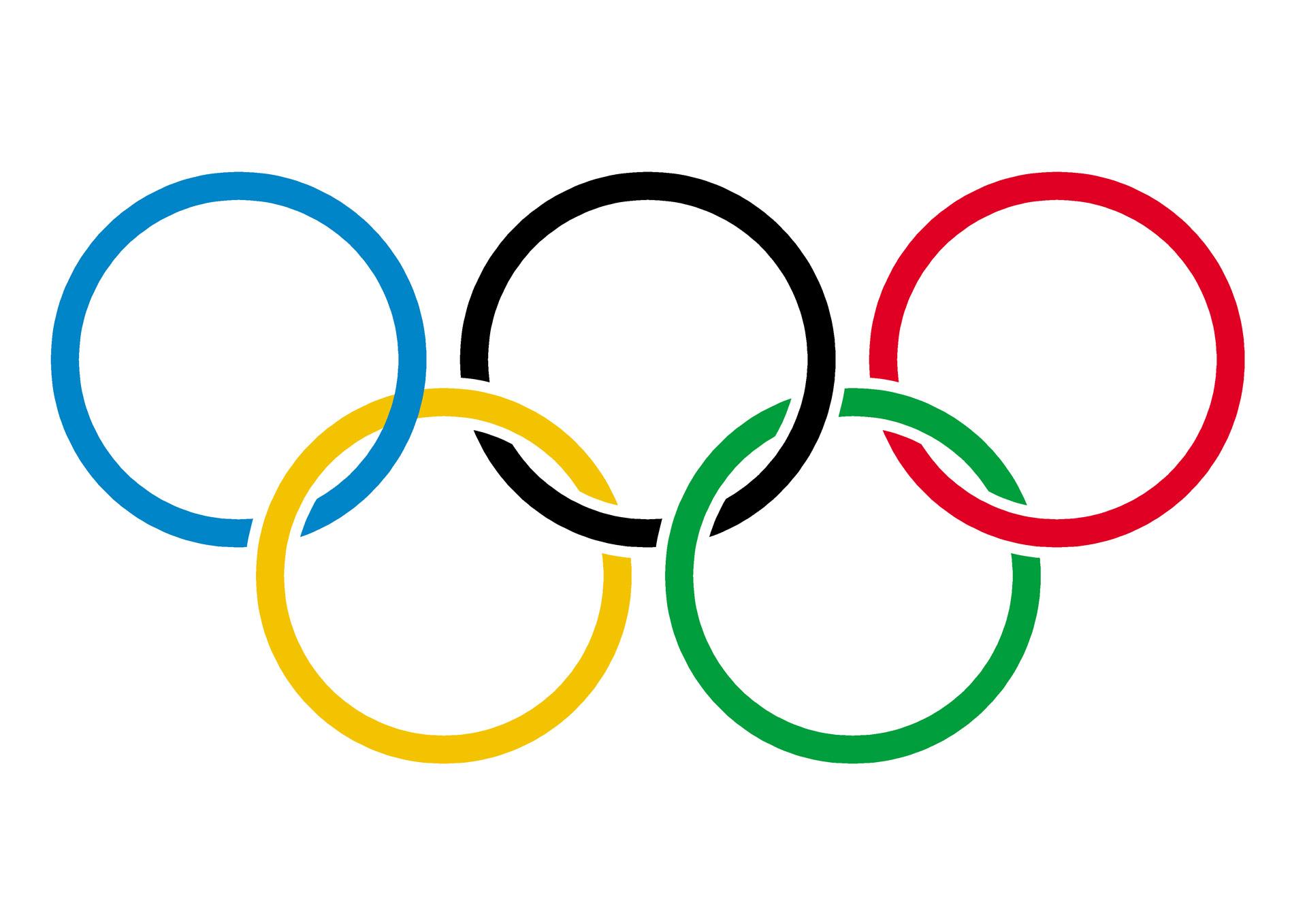 Olympic Symbol Clip Art.