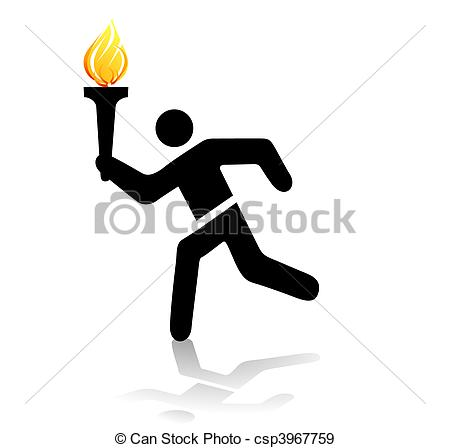 Olympic torch Vector Clipart EPS Images. 355 Olympic torch clip.