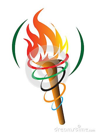 Olympic Symbol Torch Stock Photos, Images, & Pictures.