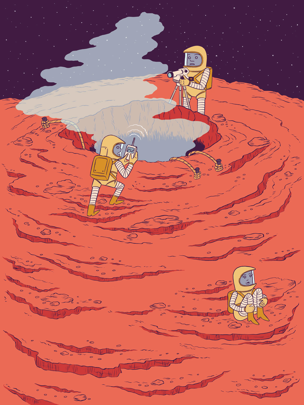 Expedition To Olympus Mons.