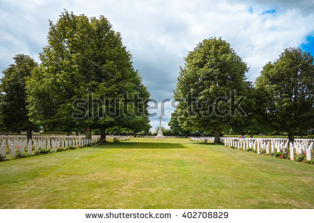 American Cemetery Normandy At Stock Photos, Royalty.