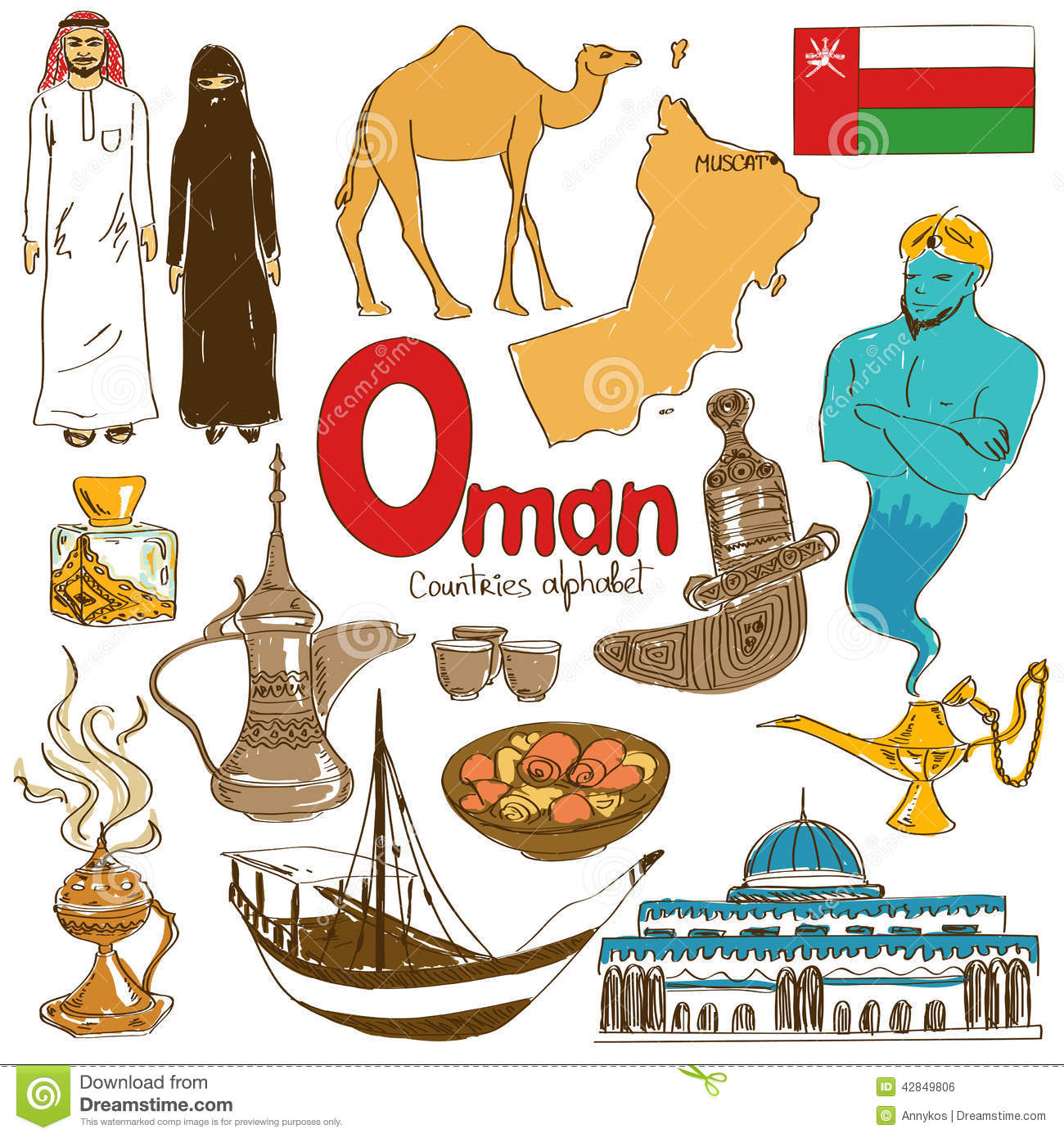 Oman clipart.