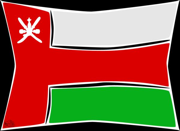 Showing post & media for Oman flag cartoon.