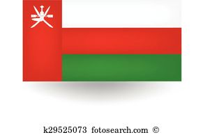 Oman flag Clip Art Vector Graphics. 352 oman flag EPS clipart.