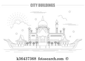 Mosque omar Clipart EPS Images. 13 mosque omar clip art vector.