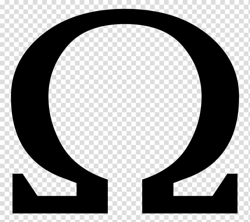Omega logo, Omega SA Symbol, greek transparent background.