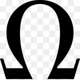 Omega Symbol PNG and Omega Symbol Transparent Clipart Free.