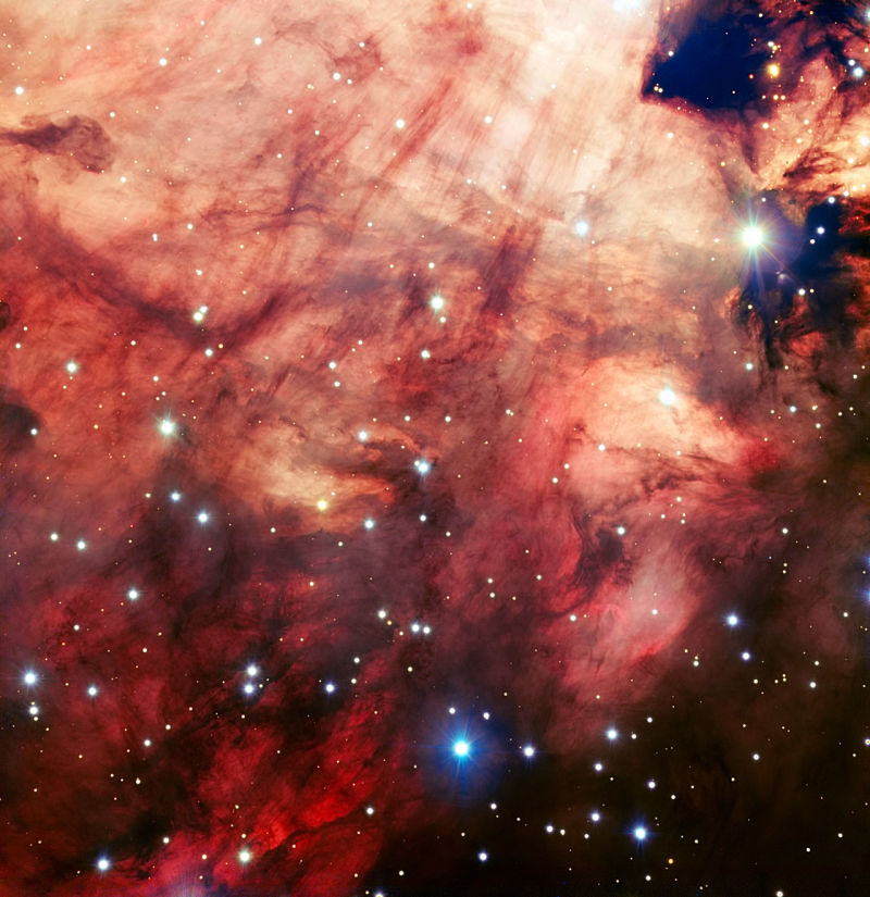 The Omega Nebula is a galactic Rorschach test.