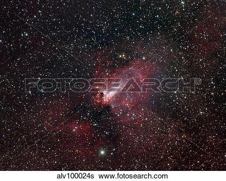 Stock Images of The Omega Nebula alv100024s.
