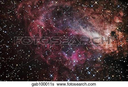 Stock Images of The Omega Nebula gab100011s.