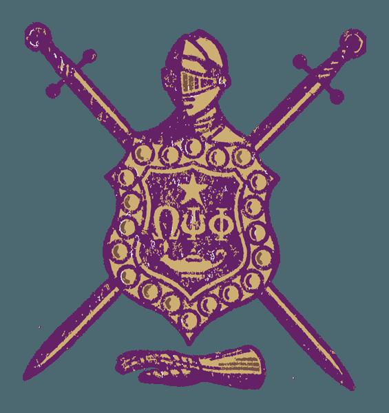 Omega Psi Phi Shield Png (+).