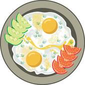 Omelet Clip Art.