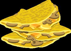 Hearty Omelet Clip Art at Clker.com.