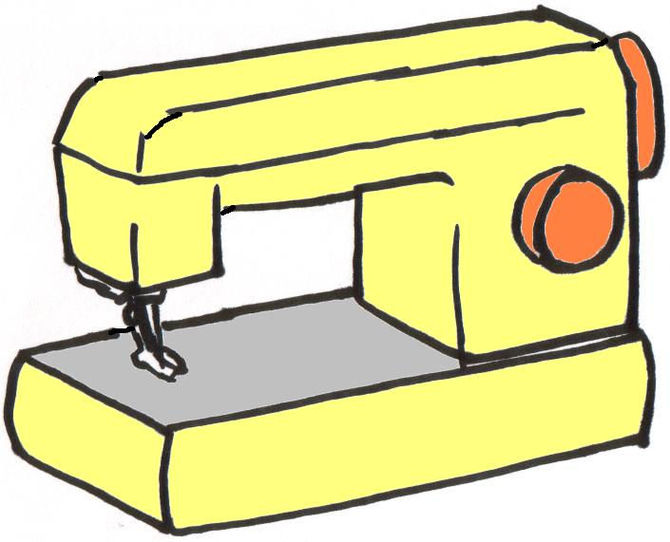 Clipart Sewing.