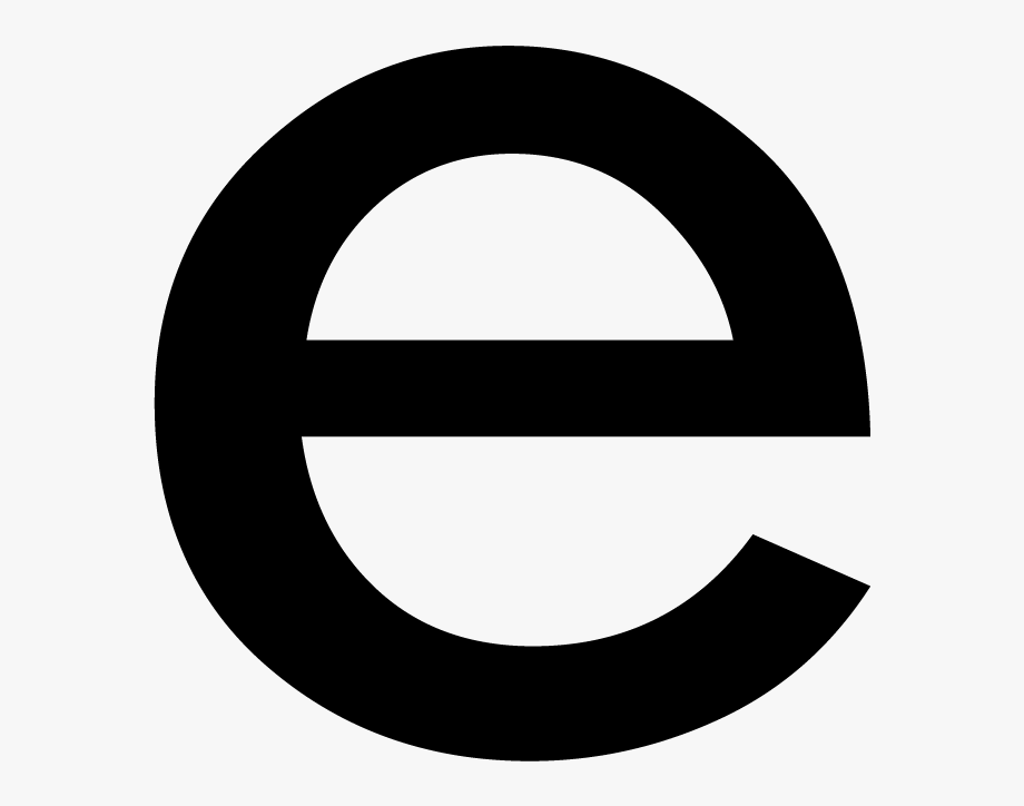 Letter E Png.