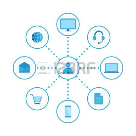 71 Omni Channel Stock Vector Illustration And Royalty Free Omni.