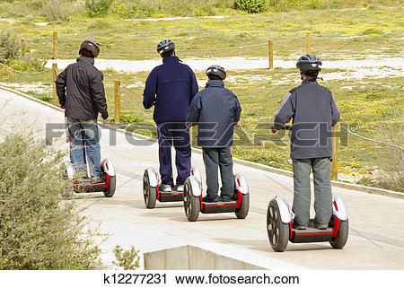 Stock Photography of Omnidirectional personal transport k12277231.