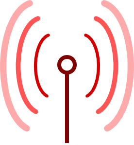 Omnidirectional Antenna clip art Free Vector / 4Vector.