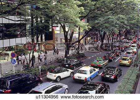 Stock Images of Omotesando, Tokyo, Japan u11304956.