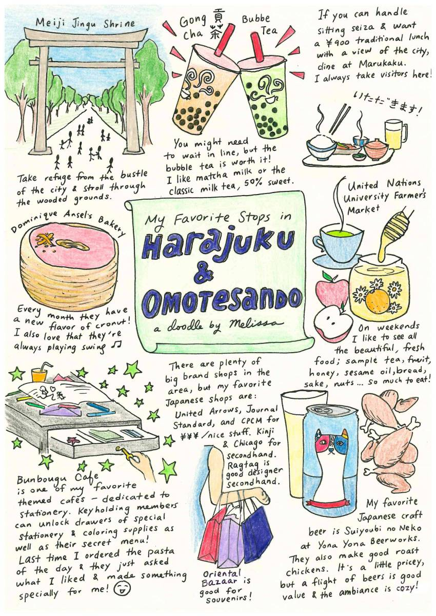 My Favorite Stops in Harajuku & Omotesando.