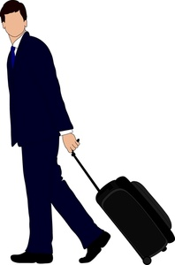 Business Trip Clipart.