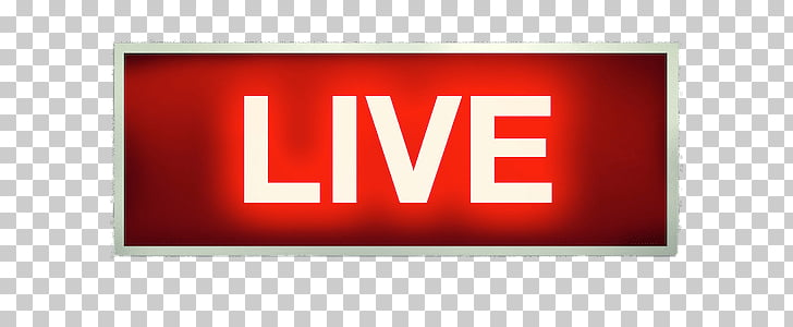 Live on Air Sign, Live text PNG clipart.