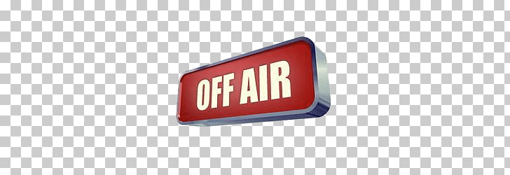 Off Air Sign, red off air illustration PNG clipart.