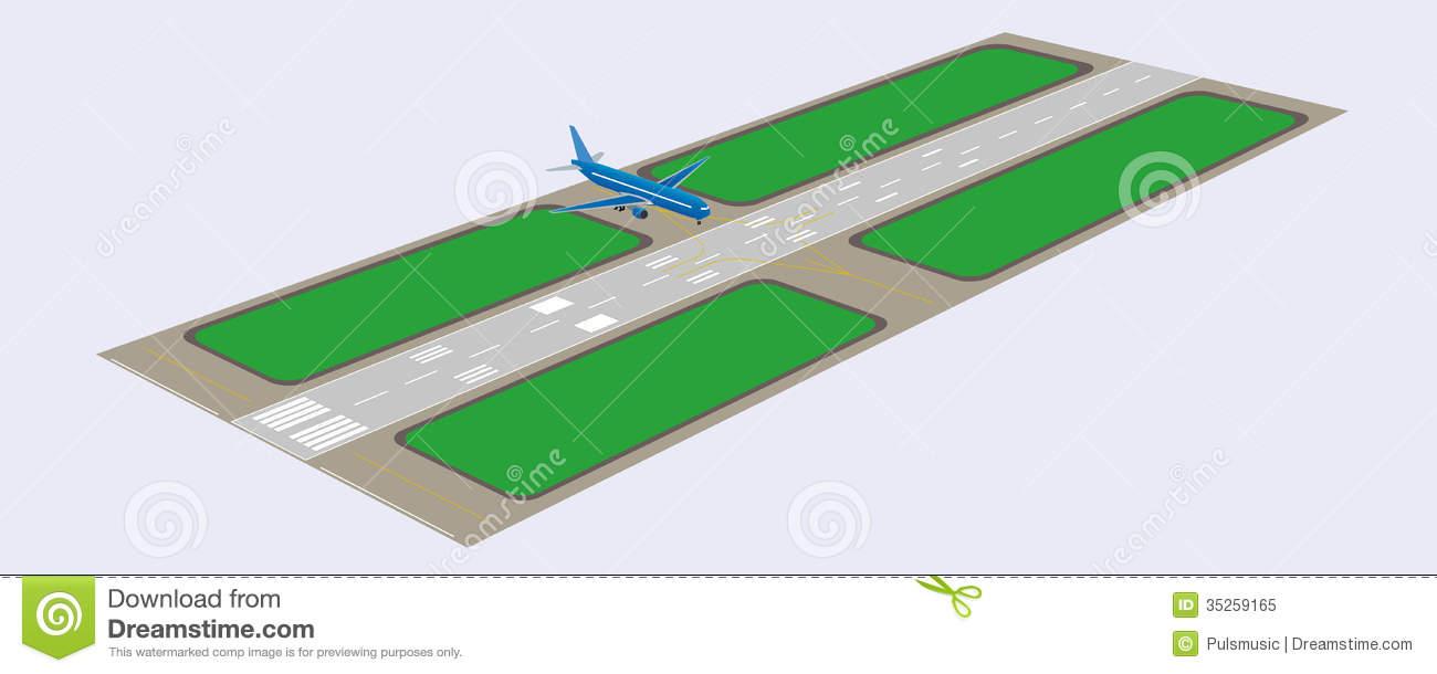 Runway Clipart.