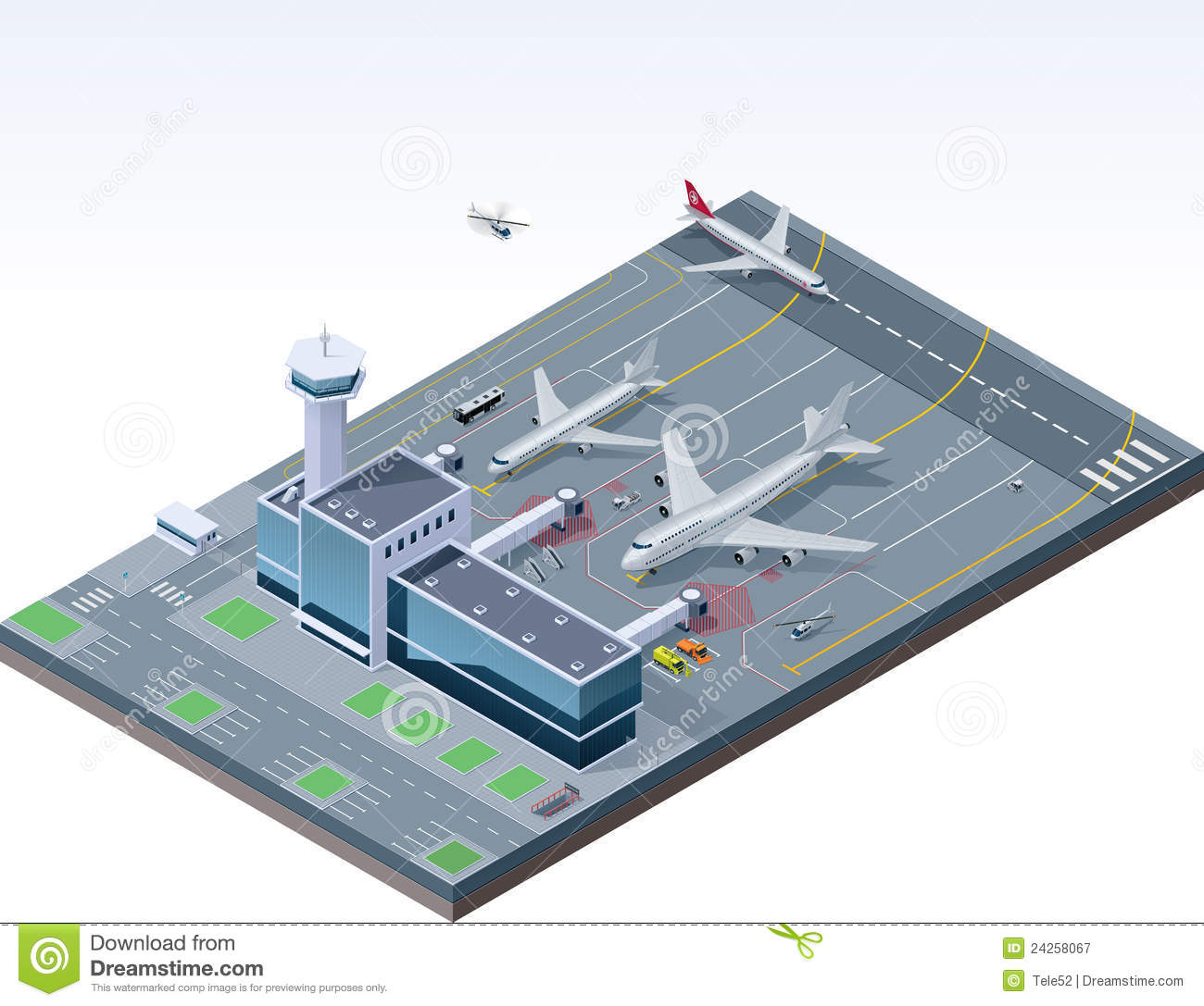 Airport Stock Illustrations.