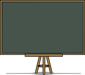 Chalk Board Clip Art at Clker.com.