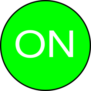 On Button Clip Art at Clker.com.