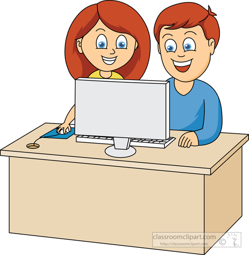 Person At Computer Cartoon, Download Free Clip Art on.