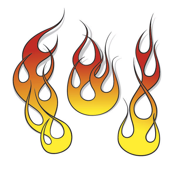House On Fire Clipart.