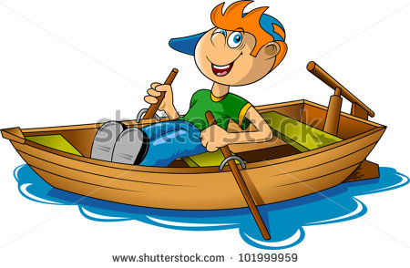 Wooden Rowing Boat Stock Vectors, Images & Vector Art.