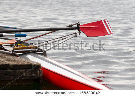 Rowing Oars Stock Images, Royalty.