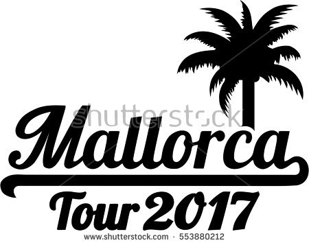 Mallorca Map Stock Photos, Royalty.