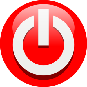 Power Off Icon Clip Art at Clker.com.
