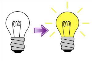 Light Bulb Off Clipart.