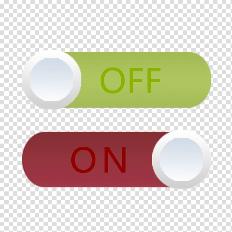 On off slide buttons , Switch Button Icon, Switch button.