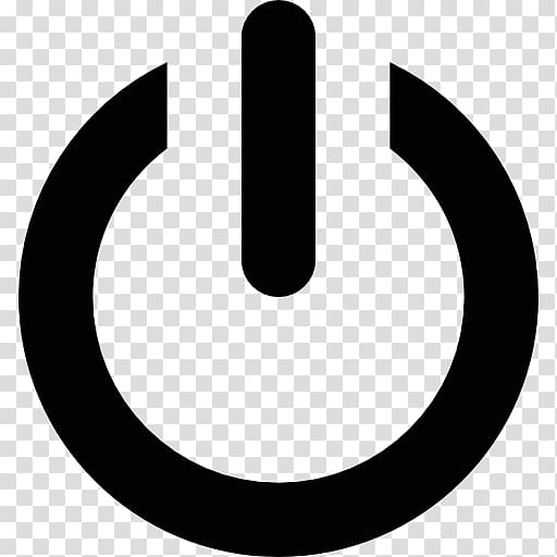 Computer Icons Power symbol Button, On Off transparent.