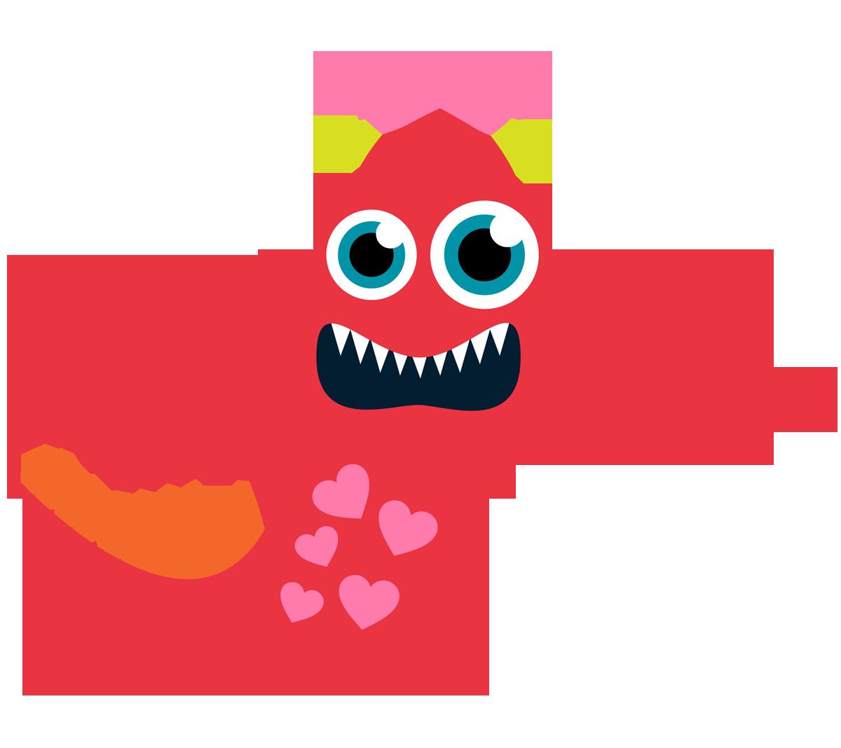 Monster Clipart.