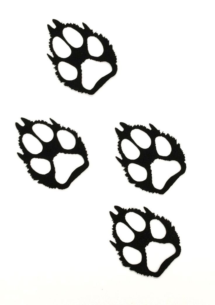 17 Best ideas about Wolf Paw Tattoos on Pinterest.