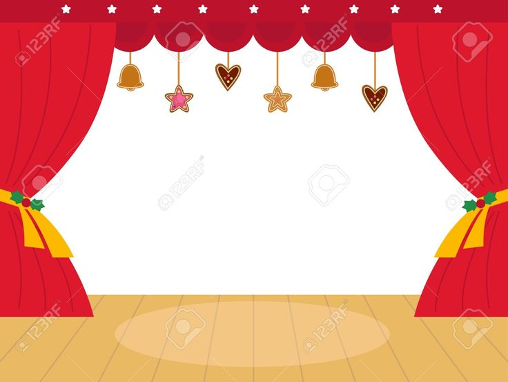 Stage Clip Art Images.