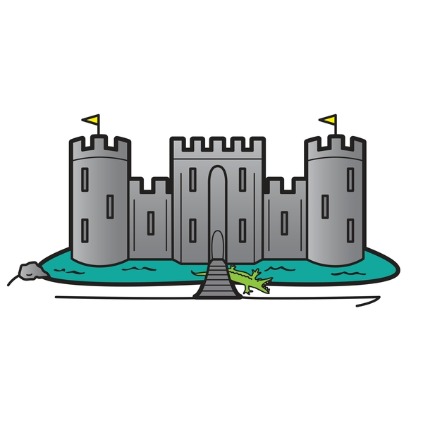 Layered Security: Think Castle Walls and a Moat Full of Alligators.