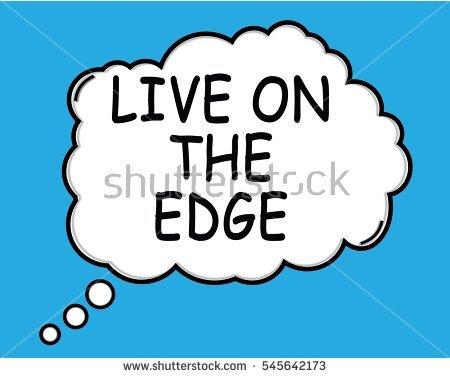 Living On The Edge Stock Photos, Royalty.