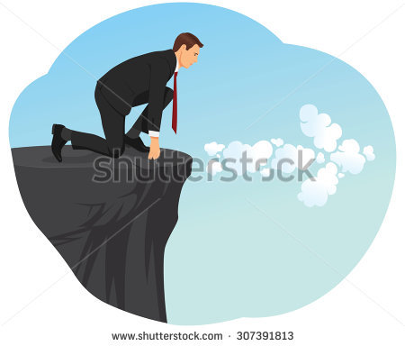 Cliff Edge Stock Photos, Royalty.