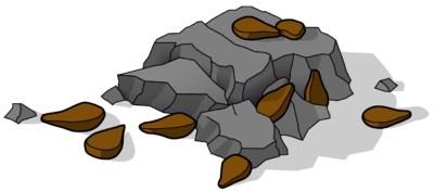 Clip Art On Rocks And Soil Clipart.