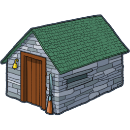 House On A Rock Clipart.